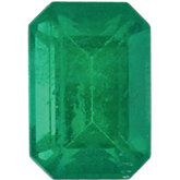 Emerald/Octagon Genuine Emerald