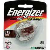 Energizer #312 Pack Of 8 Hearing Aid Batteries