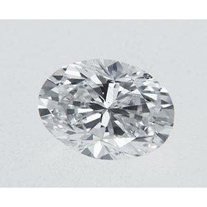 Oval 0.32 carat D SI2 Photo