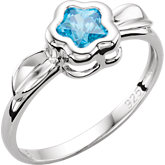 BFlower™ Youth Cubic Zirconia Ring