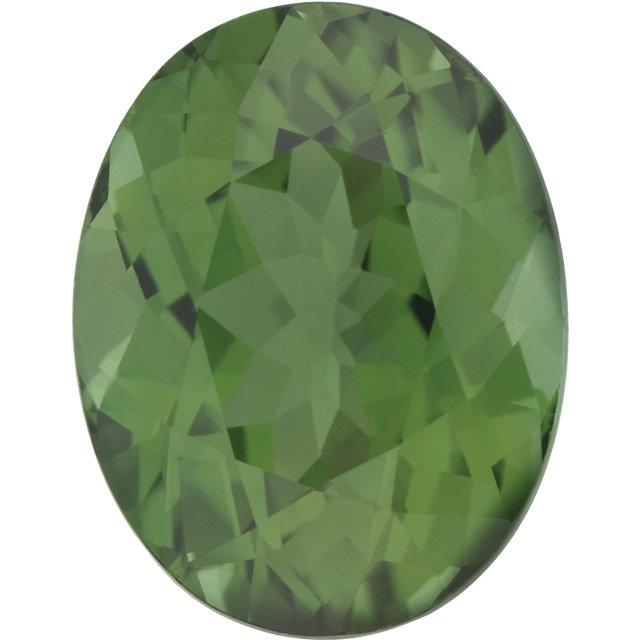 Tourmaline Oval 0.25 carat Green Photo