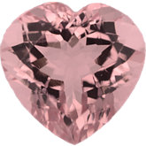 Heart Genuine Morganite (Black Box)
