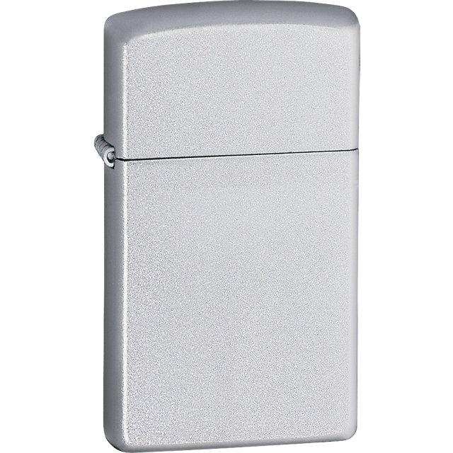 Zippo® Slim® Satin Chrome™ Lighter