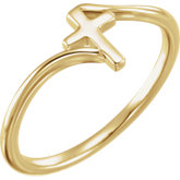 Cross Bypass Ring