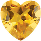 Heart Imitation Citrine