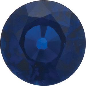 Sapphire Round 1.15 carat Blue Photo