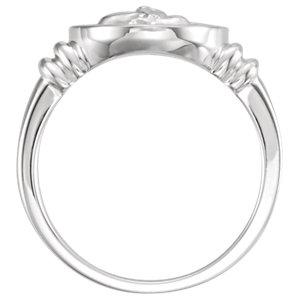 Sterling Silver Angel Ring