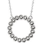 Accented Circle Necklace
