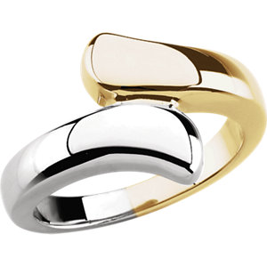 Fashion Rings , 14K Yellow Bypass Ring