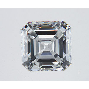 Asscher 0.52 carat H SI1 Photo