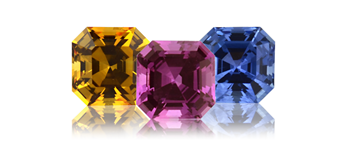 Royal Asscher® Cut Sapphires