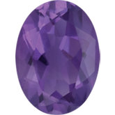 Oval Genuine Amethyst
