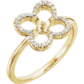 Clover Pearl Ring