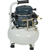 Silentaire Air Compressor, 4 gal, 1/2hp