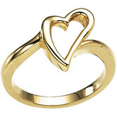 Open Heart Ring
