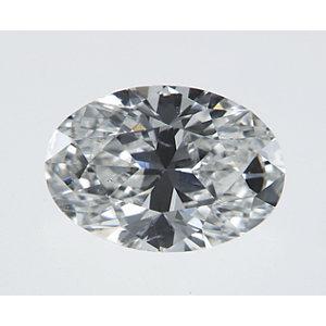 Oval 0.31 carat H SI1 Photo