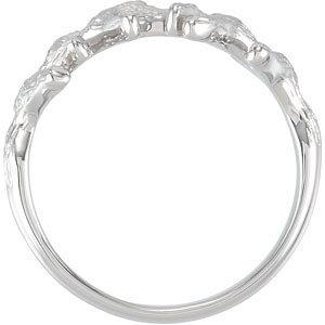 Sterling Silver Branch Ring