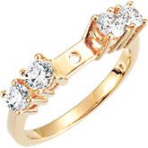 Accented Engagement Remount Ring