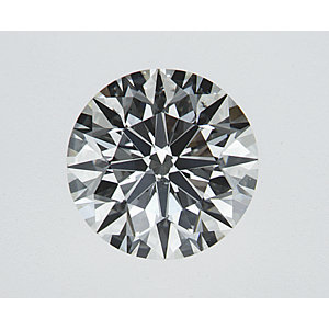 Round 0.70 carat J SI1 Photo