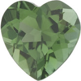 Heart Genuine Green Tourmaline