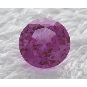 Sapphire Round 0.80 carat Purple Photo
