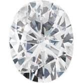 Oval Forever One Moissanite