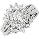 Vintage-Style Engagement Ring or Band