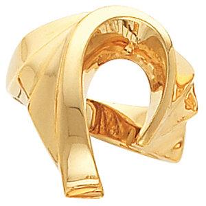 Fashion Rings , 10K Yellow Freeform Remount Ring