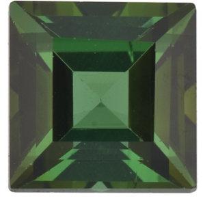 Tourmaline Square 0.40 carat Green Photo