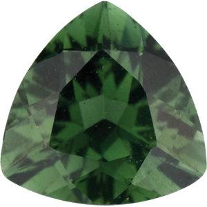 Tourmaline Trillion 0.25 carat Green Photo