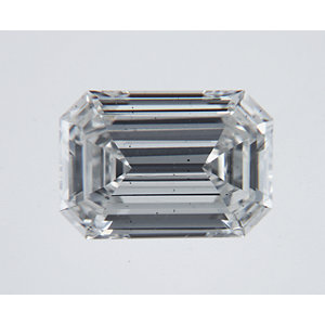 Emerald 0.65 carat H VS2 Photo