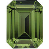 Emerald/Octagon Imitation Peridot