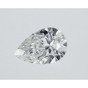 Pear Shape 0.30 carat I VS2 Photo
