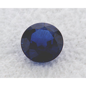 Sapphire Round 2.07 carat Blue Photo
