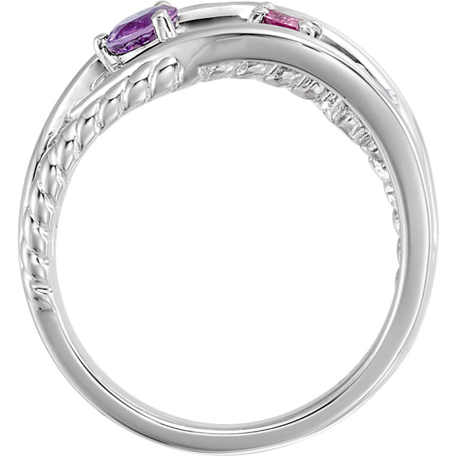 Criss-Cross Rope Ring