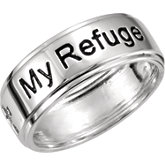 My Refuge My Strength Ring