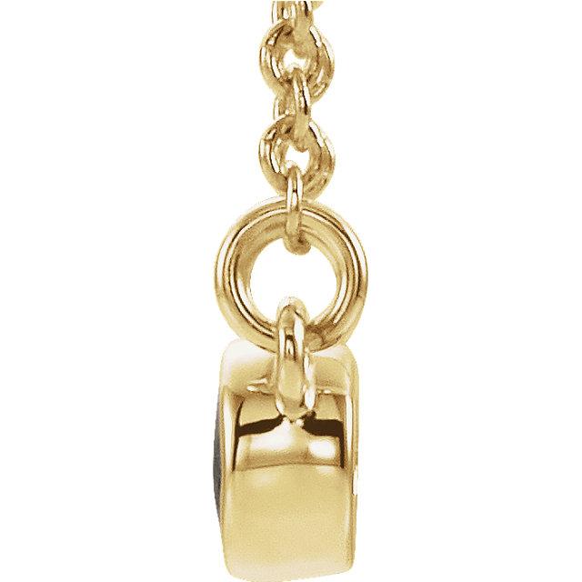 14K Yellow Alexandrite & .02 CTW Diamond 16