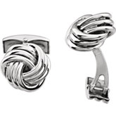 Knot Cuff Links