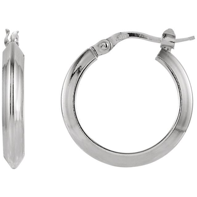 Sterling Silver 15 mm