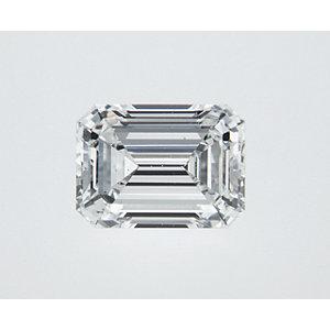 Emerald 0.70 carat F SI1 Photo