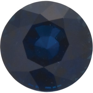 Sapphire Round 2.30 carat Blue Photo