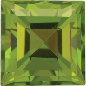 Peridot Square 0.40 carat Green Photo
