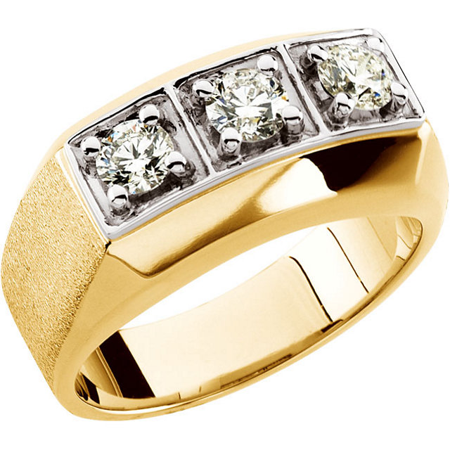 Man's Onyx & Diamond Ring