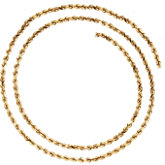 2.8mm Diamond Cut Rope Chain(replacing CH514)