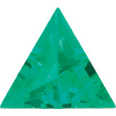 Triangle Chatham Created Emerald