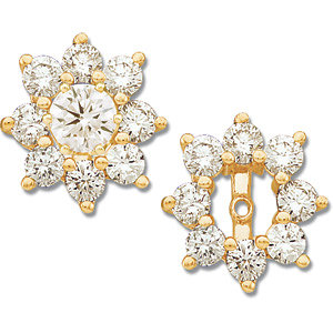 Earring Jackets, Diamond Earring Jacket