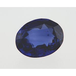 Sapphire Oval 2.09 carat Blue Photo