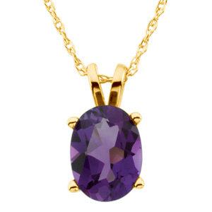 Genuine Amethyst Necklace
