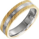 Comfort-Fit Design-Engraved Band