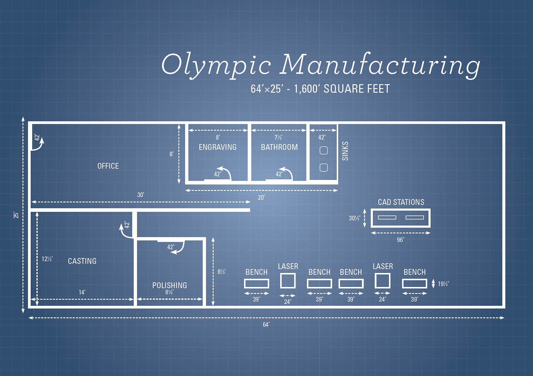 Olympic Manufacturing - Blueprint